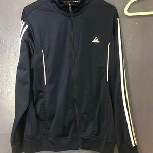 Navy Adidas Zip-Up